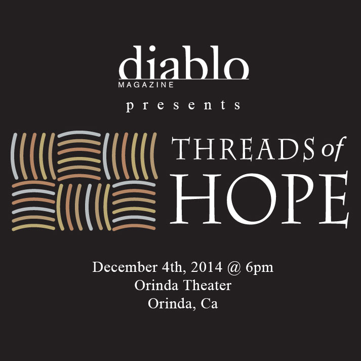 Diablo Magazine's 2014 Threads of Hope Nomination